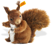 click to see Steiff Possy Mohair Squirrel in detail