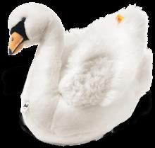 click to see Steiff  Schana Swan in detail