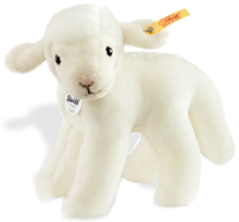click to see Steiff  Linda Lamb in detail