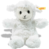 click to see Steiff Fuzzy Lamb Soft Cuddly Friend in detail