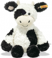 click to see Steiff  Soft Cuddly Friends Cobb Cow in detail