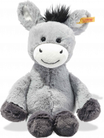 click to see Steiff  Soft Cuddly Friends Dinkie Donkey in detail