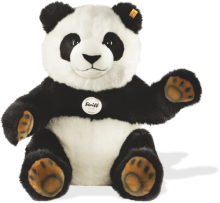 click to see Steiff  Pummy Panda - Very Gentle Touch in detail