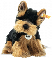 click to see Steiff  Herkules Yorkshire Terrier in detail