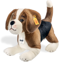 click to see Steiff  Benny Beagle in detail