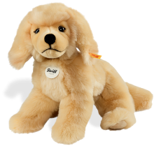 click to see Steiff  Lenni Golden Retriever in detail