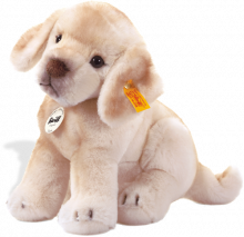 click to see Steiff  Luca Labrador Puppy in detail