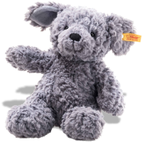 click to see Steiff Steif Cuddly Toni Dog in detail