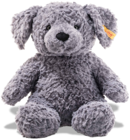 click to see Steiff  Cuddly Toni Dog in detail