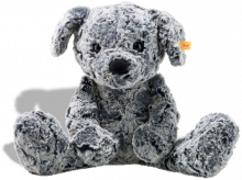 click to see Steiff  Cuddly Taffy Dog in detail