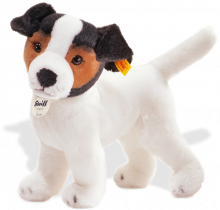 click to see Steiff  Strupy Jack Russell Puppy in detail