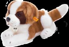 click to see Steiff  Benny Saint Bernard Puppy in detail
