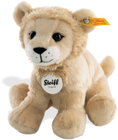 click to see Steiff  Aslan Lion in detail