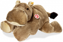 click to see Steiff  Mocky Hippopotamus in detail