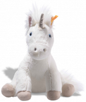 click to see Steiff  Cuddly Floppy Unica Unicorn in detail