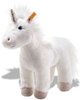 click to see Steiff  Cuddly Unica Unicorn in detail