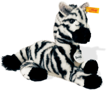 click to see Steiff  Zina The Zebra in detail