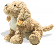 click to see Steiff  Berno Goldendoodle Soft Cuddly Friend in detail