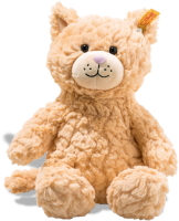 click to see Steiff  Cuddly Whiskers Cat in detail