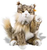 click to see Steiff  Pharao Cat in detail