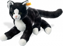 click to see Steiff  Mimmi Dangling Cat in detail