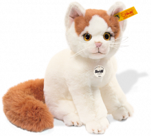 click to see Steiff  Niki Turkish Van Cat in detail