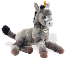click to see Steiff  Issy Dangling Donkey in detail