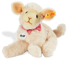 click to see Steiff  Flocky Lamb in detail