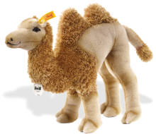 click to see Steiff  Hucky Dangling Camel in detail