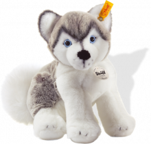 click to see Steiff  Bernie Husky in detail