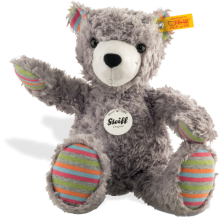 click to see Steiff  Lucky Teddy Bear in detail