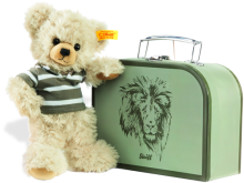 click to see Steiff  Lenni Teddy Bear Suitcase in detail