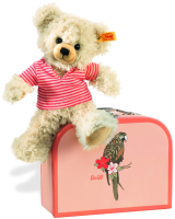click to see Steiff  Pia Teddy Bear Suitcase in detail