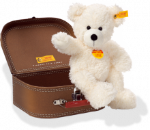click to see Steiff  Lotte Teddy Bear In Suitcase in detail