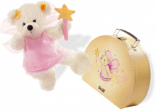 click to see Steiff  Lotte Star Fairy In Suitcase in detail