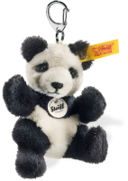 click to see Steiff  Panda Teddy Bear Keyring in detail
