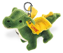 click to see Steiff  Dragon Keyring in detail