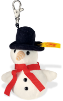 click to see Steiff  Snowman Keyring in detail