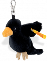 click to see Steiff  Raven Keyring in detail