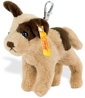 click to see Steiff  Strolch Dog Keyring in detail