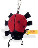 click to see Steiff  Ladybird Keyring in detail