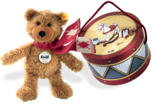 click to see Steiff  Brown Charly Dangling Bear in detail