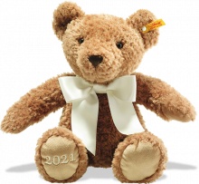 click to see Steiff  Cosy Year Bear 2021 in detail