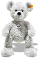 click to see Steiff  Fynn Grey Teddy Bear in detail