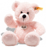 click to see Steiff  Lotte Pink Teddy Bear in detail