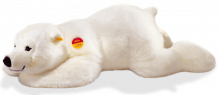 click to see Steiff  Lying Arco Polar Bear in detail