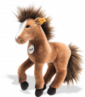 click to see Steiff  Chayenne Horse in detail
