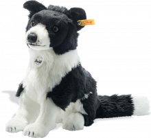 click to see Steiff  Jaycee Border Collie in detail