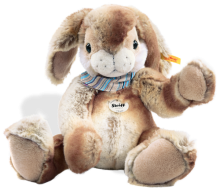 click to see Steiff  Hoppi Dangling Rabbit - Soft & Cuddly in detail