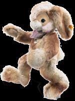 click to see Steiff  Hoppi Dangling Rabbit in detail
